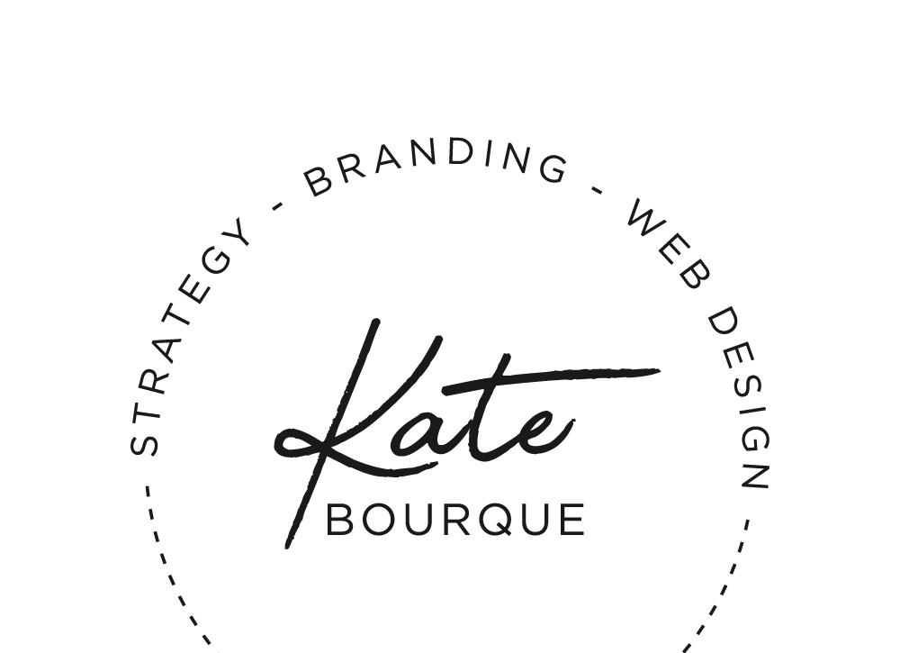 Kate Bourque Branding & Web